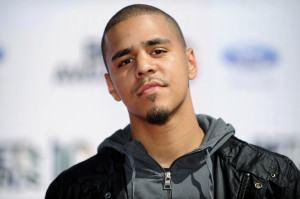 Singer J. Cole arrives at the 2010 BET Awards in Los Angeles